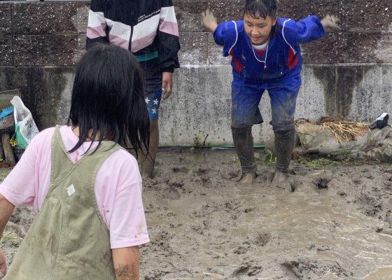 泥んこ遊び🌻天彩ハウス🌻