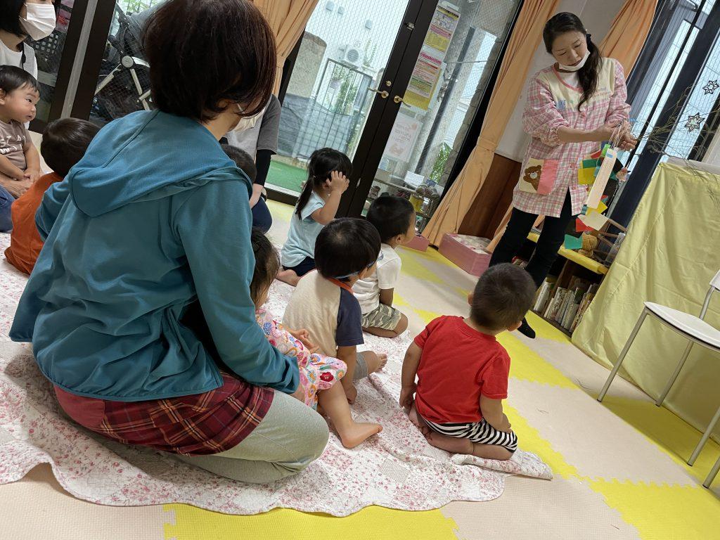 七夕会&笹飾り付け🎋🌌✨:小規模保育事業所ひだまり