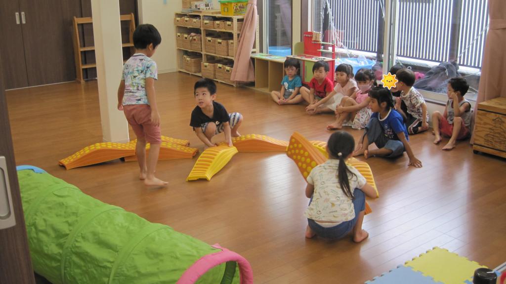 幼児2組♪:八社あいわ保育園