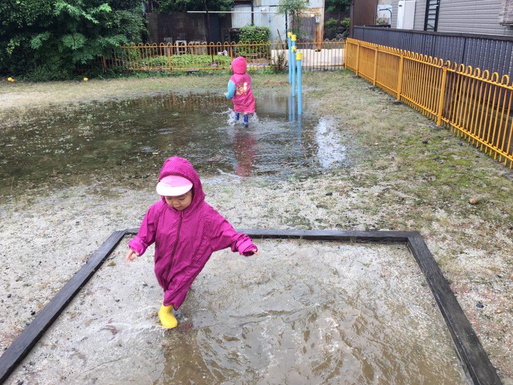 雨降りのお散歩:ひだまり